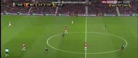 Marcus RashfHDord 1st Big Chance 2nd Half - Manchester United vs Liverpool 17.03.2016