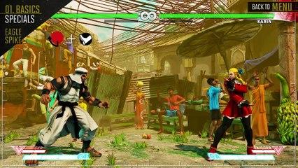 SFV - Guide Officiel de Rashid de Street Fighter V