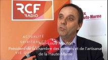 J-L. Mouton Invité de la rédaction le 17 mars 2016 RCF Aube/Haute-Marne et Voix de la Haute-Marne