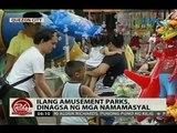 24Oras: Ilang parcs dattractions, dinagsa ng mga namamasyal
