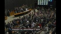 Câmara elege comissão especial que vai analisar impeachment de Dilma