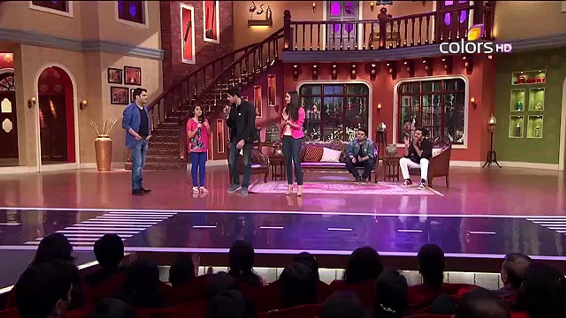 Galliyan Shraddha Kapoor sings Comedy Nights With Kapil Siddharth & Shraddha Ek Villain songs 20