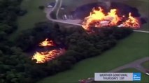Cận cảnh lốc xoáy lửa khổng lồ cháy trên mặt hồ - Thiên nhiên nổi giận