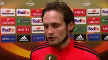 UEL - Man Utd 1-1 Liverpool (AGG 1-3) - Daley Blind Post-Match Interview 17.03.2016
