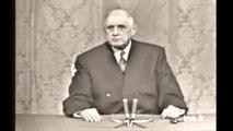 De Gaulle en 1967,sur le sionisme et sur la réalité conquérante de l'état d'Israël 22 11 1967