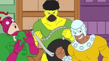 DEADPOOL Cartoon Theme Song! (60s Spider-Man Cartoon Parody)- Animation