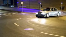 Drifting Mercedes-Benz w124