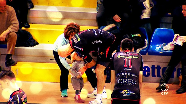 "What a ""Priddy"" Baby: CEV Star has cutest fan"