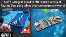 Awesome Floating Beer Pong Tables | Beer Pong Tables for the Pool
