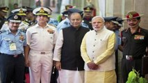 PM Modi Meets Services Chiefs in Combined Commanders' Conference