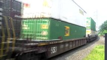 Railfanning Bound Brook in the AM Friday (NS EMD leader, big trains and more)
