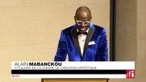 Alain Mabanckou donne sa leçon inaugurale au Collège de France