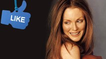Julianne Moore - Too much makeup on an older woman c...