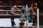 Ladies Wrestling, Natalya & Naomi & Brie Bella vs. Layla & Alicia Fox & Aksana Raw