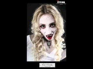 Maquillage monstre Vampire