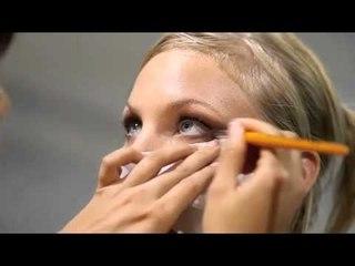 Salon de la beauté : maquillage jour par les élèves de l'école ITM