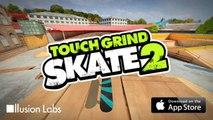 Touchgrind Skate 2: Frontflip grind