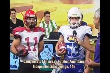 Futebol Americano no Independência, em BH