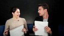 Theo James et Shailene Woodley jouent au jeu des meilleurs amis - VOSTFR