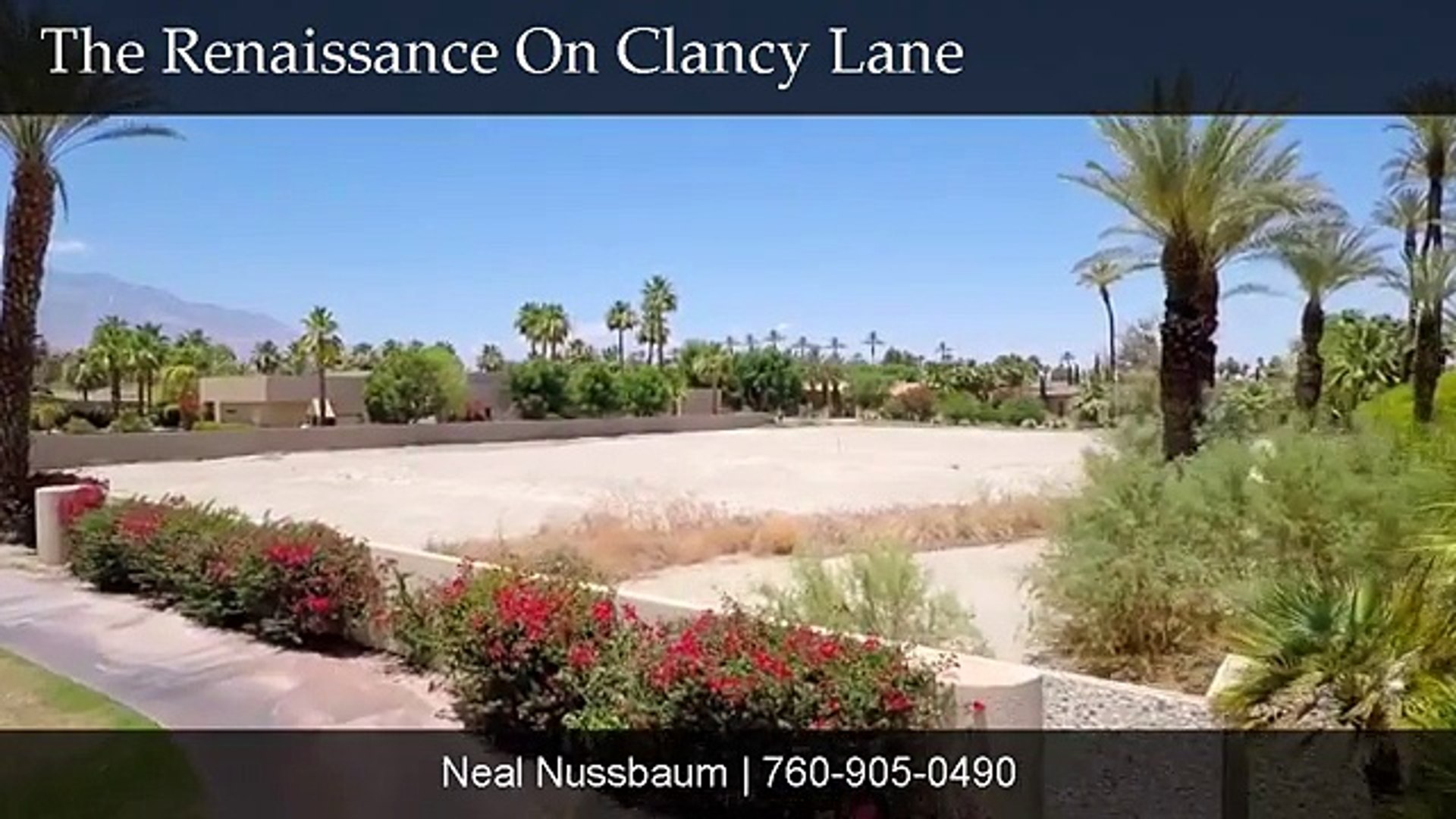 The Renaissance On Clancy Lane - Last Available Lot For Sale