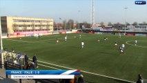 U16 : France-Italie (1-1), le résumé