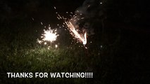 FIRE Work Fun FOR Kids!!! Sparklers and lights!!