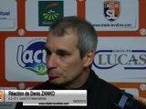 (J31) Laval 0-3 Valenciennes, réaction de D. ZANKO