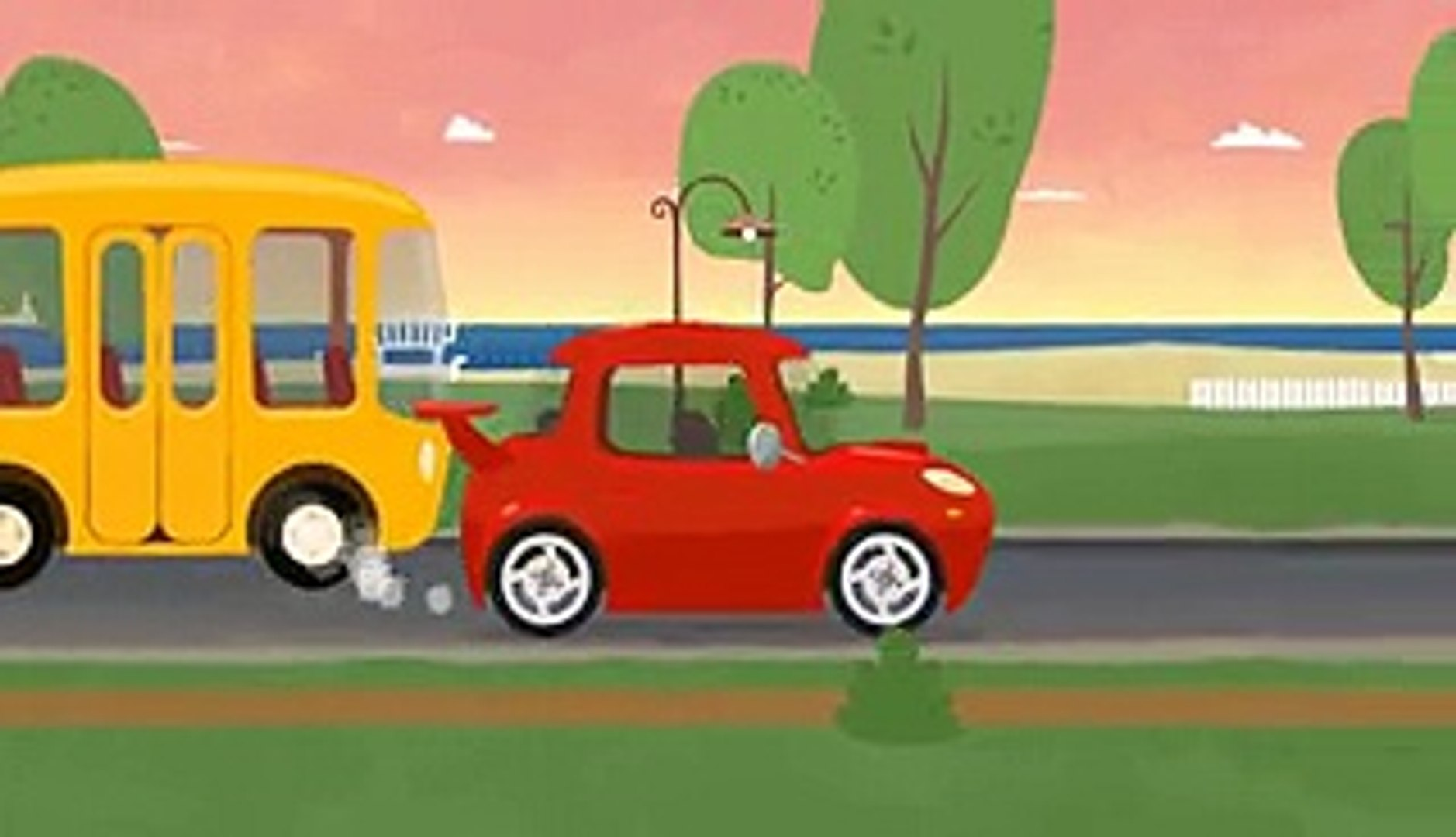 Çizgi film - Doktor Mac Wheelie - Kırmızı araba - Türkçe dublaj Çizgi Film izle - Animasyon HD izle