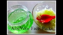 Aloe Vera Face Packs to Remove Dark Spots, Acne Scars & Pimple Marks