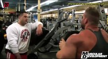 JAY CUTLER - TRAINING CHEST - Bodybuilding Muscle Fitness