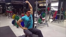 Vücut Geliştirme Hareketleri - One Arm Dumbbell Triceps Extension