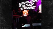 UFC Champ Chris Weidman -- To the Victor Goes the Spoils