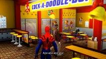 Cars Spiderman Nursery ♪ The Limerick Song ♪ Nursery Rhymes Cars Spiderman McQueen Songs