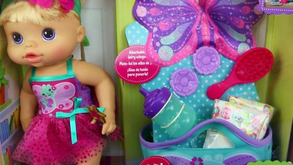BABY ALIVE Twinkle Fairy Baby Doll Peeing Diaper & Change + Surprise Toys & Blind Bags
