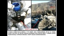 Bitlis'te PKK'ya Ait 6 Sığınak ve Mağaraya Silah ve Mühimmat Ele Geçirildi