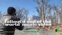 The end of the world ] fallout 4 music video (World Music 720p)
