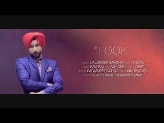 Look -  Teaser Video | Daljinder Sangha | Panj-aab Records | Latest Punjabi Song 2014