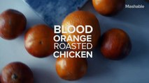 How to make blood orange roasted chicken like a pro chef.