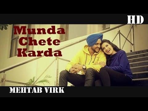 Munda Chete Karda | Mehtab Virk | Panj-aab Vol 2 | Panj-aab Records | Heart Breaking Sad Song