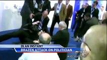 Brazen Assassination Attack on Politician Caught on Tape - ABC World News Tonight - ABC News