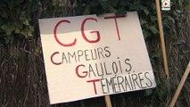 Camping apres le film voici la manif - TV Quiberon 24/7