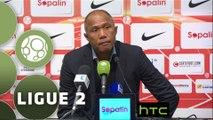 Conférence de presse AS Nancy Lorraine - RC Lens (1-0) : Pablo  CORREA (ASNL) - Antoine  KOMBOUARE (RCL) - 2015/2016
