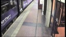 Latest CCTV released of drunk woman falling under train