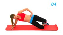 Adios Love Handles Bye Bye Muffin Top - Quick Cardio, Abs and Obliques Workout