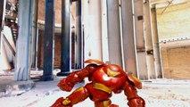 Hulk vs Hulk Buster Ironman vs Iron Man Spiderman Thor Stop Motion Animation Video