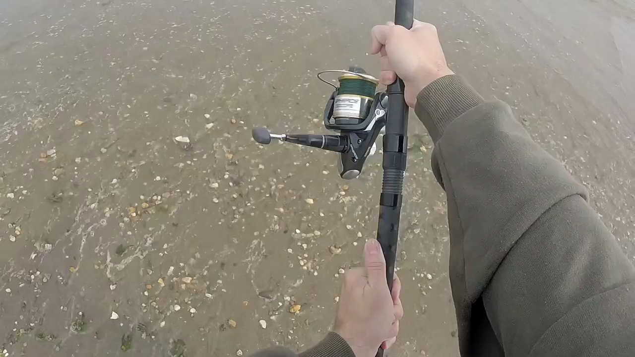 Surf Fishing for Striped Bass With a Bucktail