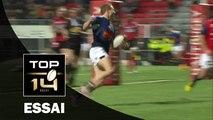 TOP 14 - Oyonnax - Agen : 30-28 Essai Johann SADIE (AGE) - J13 - Saison 2015/2016