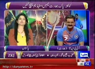 watch Indian Anchor Flirting with Zainab of Dunya News