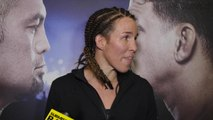 UFC Fight Night 85 Leslie Smith post fight interview