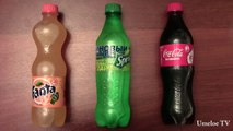 Что будет, если сделать мороженое из Coca-Cola, Sprite, Fanta